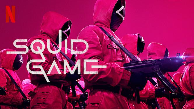 Squid Game on Netflix UK