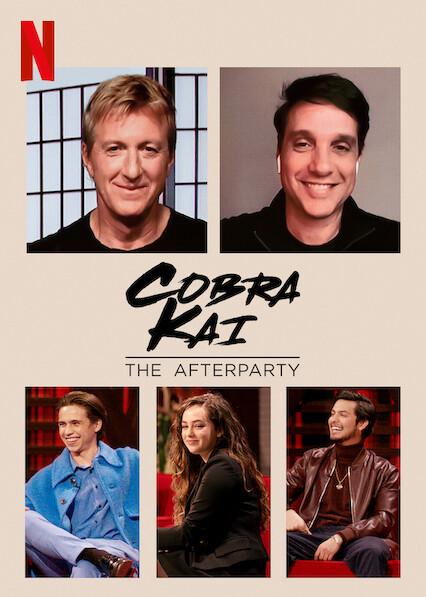 Cobra Kai - The Afterparty on Netflix UK