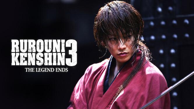 Rurouni Kenshin: The Legend Ends on Netflix UK