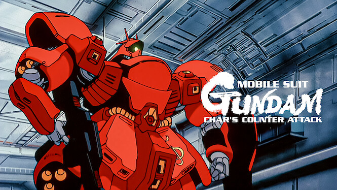 Mobile Suit Gundam: Char's Counterattack on Netflix UK