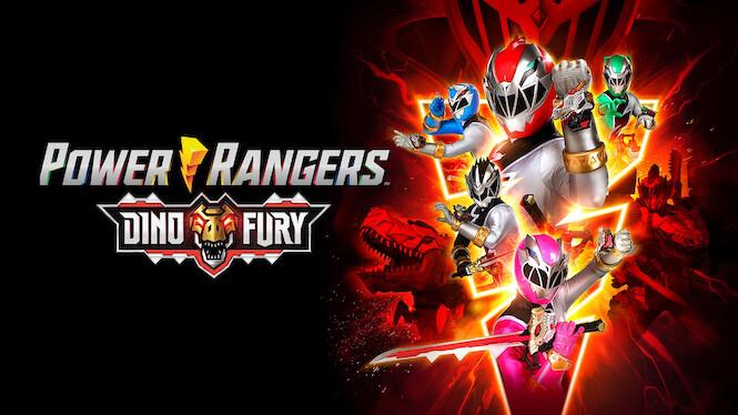 Power Rangers Dino Fury on Netflix UK