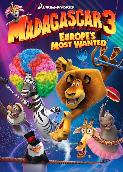 Madagascar 3: Europe's Most Wanted on Netflix UK