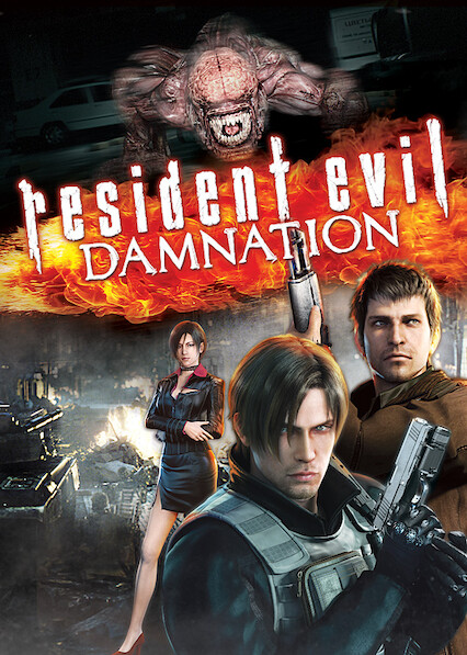 Resident Evil: Damnation on Netflix UK